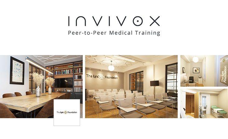 The Lyx Foundation colabora con invivox, la plataforma médica mundial que ha reinventado el aprendizaje médico