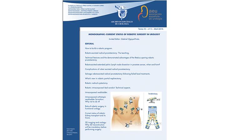 monográfico archivos españoles de urología