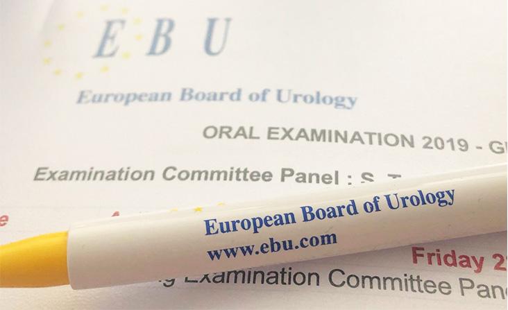 Examen Fellow del EBU