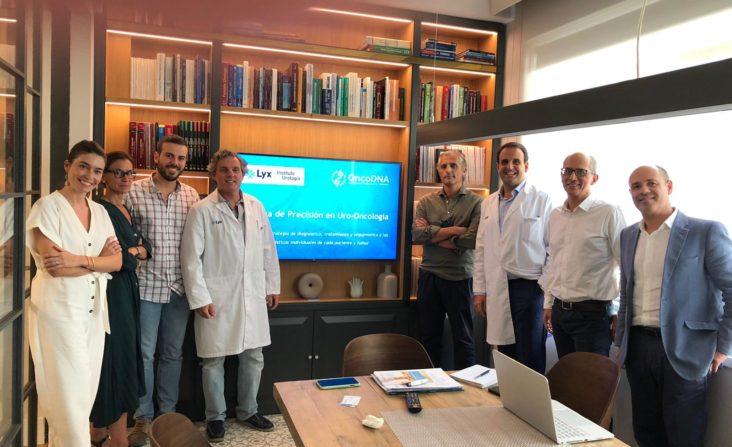 Reunión con oncoDNA