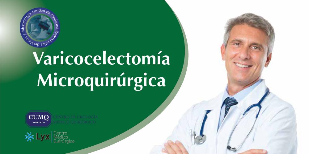 Corrección microquirúrgica del varicocele